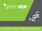 New Zealand Green Building Council GSAP logo