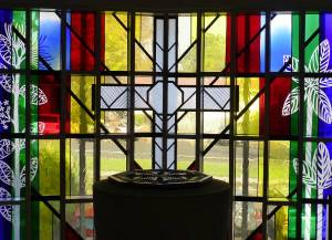 Papakura Anglican stained glass window