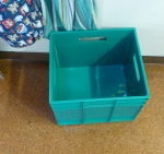 Recycle bin in the Bridge kitchen at St Peter's Onehunga
