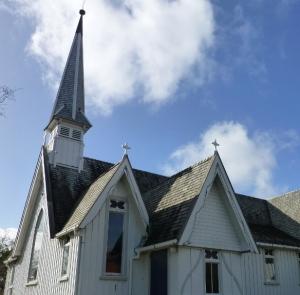 St Andrews Epsom exterior of historic church
