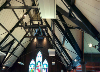 St Luke's Mt Albert new radiant heaters