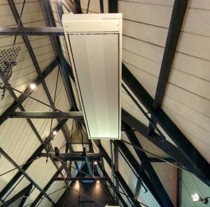 St Lukes Mt Albert new heaters