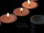 Tea Light candles gift at St Peter's Pakuranga