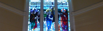 St Peters Onehunga stained glass window
