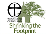 Church of England Shrinking the Footprint logo