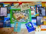 St Peter's Pakuranga sustainability noticeboard.