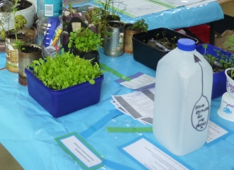 World Environment Day display at St Peter's Pakuranga.