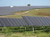 solar power plant near Serpa