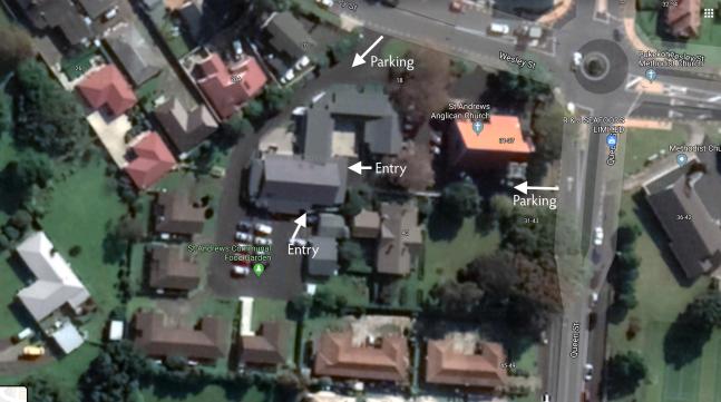 Site map, St Andrews Pukekohe